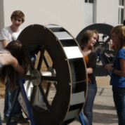 Science Camp 2012 Wasserrad