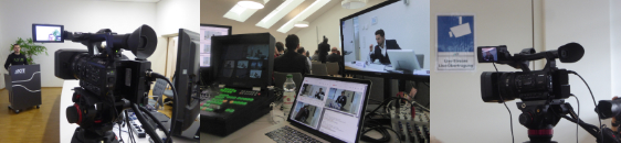 Live-Streaming Stream mediales Lernen individuelles Lernen moderne Lehre on air Innovation