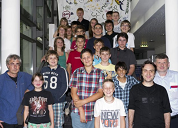 Science Camp 2012 Gruppenbild